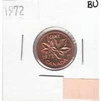 1972 Canada 1-cent Brilliant Uncirculated (MS-63)