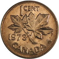 1973 Canada 1-cent Brilliant Uncirculated (MS-63)