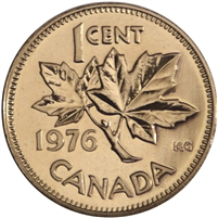 1976 Canada 1-cent Proof Like