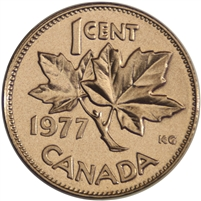 1977 Canada 1-cent Proof Like