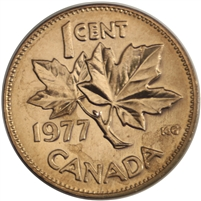 1977 Canada 1-cent Brilliant Uncirculated (MS-63)