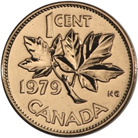 1979 Canada 1-cent Proof Like