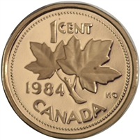 1984 Canada 1-cent Proof