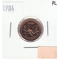 1984 Canada 1-cent Proof Like