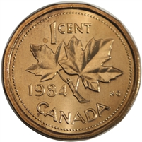 1984 Canada 1-cent Brilliant Uncirculated (MS-63)