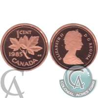 1985 Canada 1-cent Proof