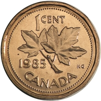 1985 Canada 1-cent Brilliant Uncirculated (MS-63)