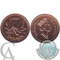 1995 Canada 1-cent Proof Like