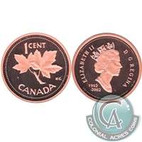 2002 Canada 1-cent Proof