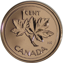 2002P Canada 1-cent Proof Like