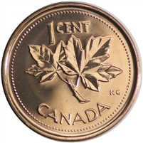 2002P Canada 1-cent Brilliant Uncirculated (MS-63)