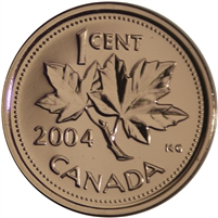 2004P Canada 1-cent Proof Like