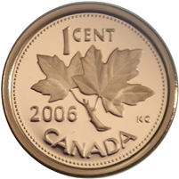 2006 Canada 1-cent Proof
