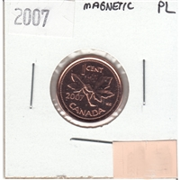 2007 Canada Magnetic 1-cent Proof Like