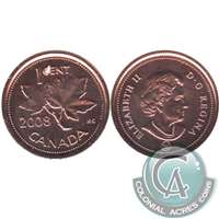 2008 Canada 1-cent Proof Like