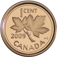 2009 Canada 1-cent Proof