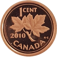 2010 Canada 1-cent Proof