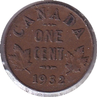 1932 Canada 1 Cent Circulated