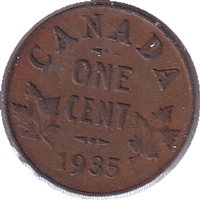 1935 Canada 1 Cent Circulated