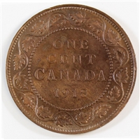 1918 Canada 1 Cent Brilliant Uncirculated R & B (MS-63)