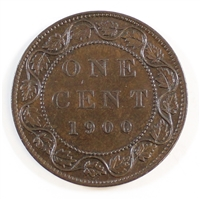 1900 Canada 1 Cent Almost Uncirculated (AU-50)