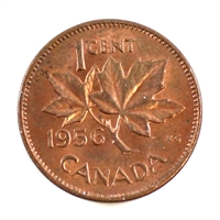 1956 Canada 1 Cent Uncirculated (MS-60)