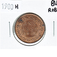 1900H Canada 1 Cent Brilliant Uncirculated R & B (MS-63) $