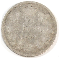1896 Obv. 5 Canada 10-cent Good (G-4)