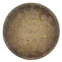 1898 Canada Obv. 6 10-cent About Good (AG-3)