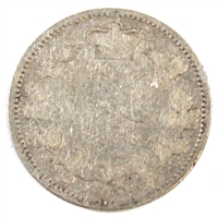 1899 Large 9's Canada 10-cent Good (G-4)