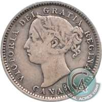 1901 Canada 10-cent VG-F (VG-10)