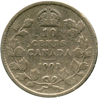 1903 Canada 10-cent Good (G-4)