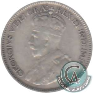 1918 Canada 10-cents Very Fine (VF-20)