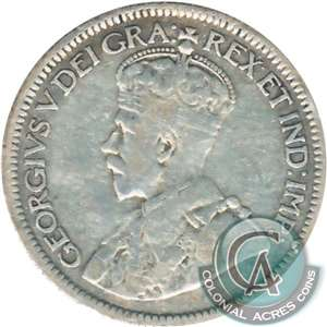 1920 Canada 10-cent VG-F (VG-10)