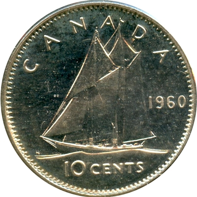 1960 Canada 10-cent Proof Like