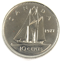 1977 Canada 10-cent Proof Like
