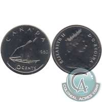 1980 Canada 10-cent Proof Like