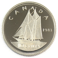 1983 Canada 10-cent Proof