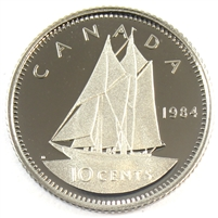 1984 Canada 10-cent Proof