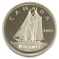1985 Canada 10-cent Proof