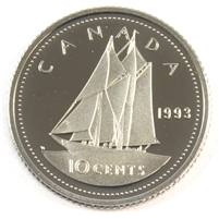 1993 Canada 10-cent Proof