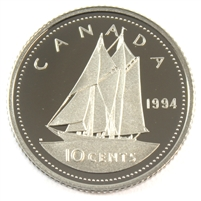 1994 Canada 10-cent Proof