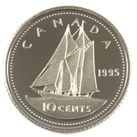 1995 Canada 10-cent Proof