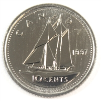 1997 Canada 10-cent Proof Like