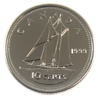 1999 Canada 10-cent Proof Like