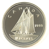 1999 Canada 10-cent Silver Proof