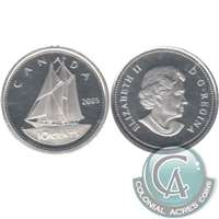 2005 Canada 10-cent Silver Proof