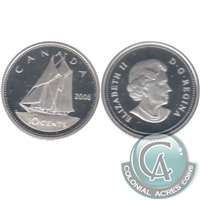2006 Canada 10-cent Silver Proof