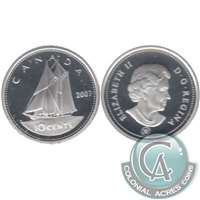 2007 Canada 10-cent Silver Proof