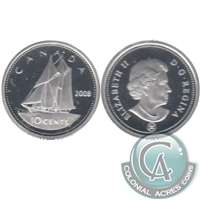 2008 Canada 10-cent Silver Proof